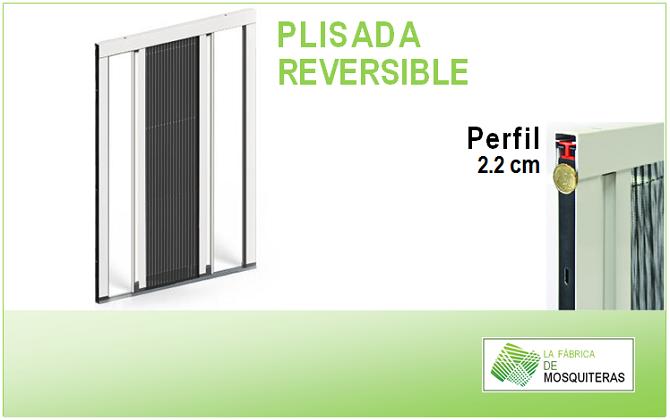 Mosquitera Plisada Reversible Para Ventanas Y Puertas